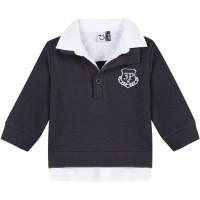3 POMMES Sweatshirt Bleu Foncé Bébé Garçon