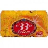 33 EXPORT Biere blonde - 6 x 33 cl