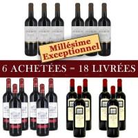 6 18 pack vin Bordeaux 2009