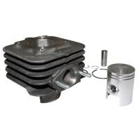 831116 - cylindre piston origine piaggio 50 zip, fly, typhoon, vespa lx/gilera 50 stalker/aprilia 50 sr