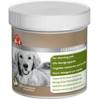 8in1 Lingettes ear clear récompense - Pour chien - 100g - Pack de 16 pieces