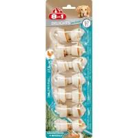 8in1 Os a mâcher au poulet Dental Delights - Taille XS - 7 pieces - Pour chien
