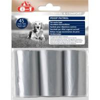 8in1 Poop Patrol sachets de rechange - Pour chien - Pack de 12 pieces - 3 packs