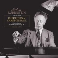 A. RUBINSTEIN Highlights from Rubinstein at Carnegie Hall - 33 Tours - 180 grammes