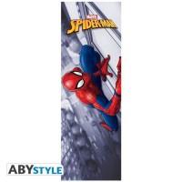 ABYSTYLE - Alice aux pays des Merveilles - Poster de Porte Marvel - Spider-man - Roulé filmé (53x158)