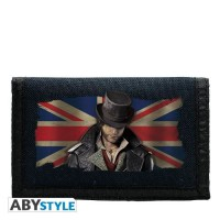 """ABYSTYLE Portefeuille Assassin'S Creed """"Syndicate/ Union Jack"""" - Marine"""