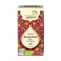 ADANIM BIO 20 Sachets d'infusions respiration de thym et eucalyptus bio - 45 g