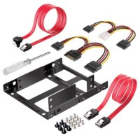 """Adaptateur SSD / HDD 2,5"""" a 3,5"""" (Kit complet)"""