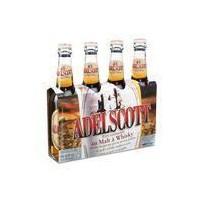 ADELSCOTT Pack de 4 Bieres aromatisées au malt de whisky 5,8° - 33 cl
