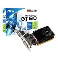 MSI Carte graphique N610GT-MD2GD3/LP