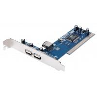 CARTE PCI USB 2.0 KÖNIG