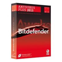 Bitdefender Antivirus Plus 2013 1an / 1poste