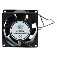 HQ AC fan 80x80x38 mm