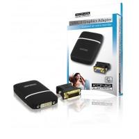 ADAPTATEUR USB 2.0 VERS VGA GRAPHIQUE KÖNIG
