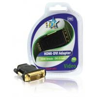 ADAPTATEUR HDMI FEMELLE - DVI MALE