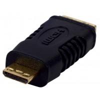 ADAPTATEUR HDMI PLAQUE OR