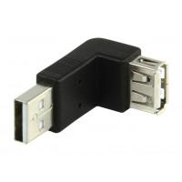 Valueline adaptateur USB 2.0 AA coudé 90°