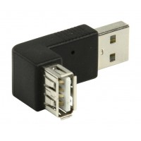Valueline adaptateur USB 2.0 A-A coudé 270°