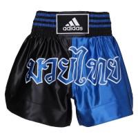 ADIDAS PERFORMANCE Short Boxe Thai Bleu et Rouge