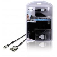 CABLE DE CONNEXION HDMI VERS DVI-D - 2.5m