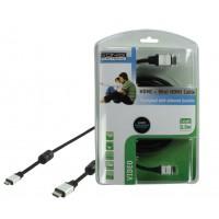 CABLE HDMI VERS MINI HDMI AVEC FONCTION ETHERNET 2.5M KÖNIG