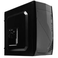 AEROCOOL Boîtier PC - Mini Tour - Format Micro-ATX - Pas d'alimentation - Noir