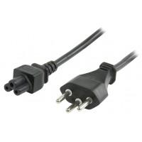 Valueline power cable Swiss plug - IEC320 C5 - 1.8m