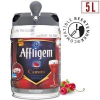 Affligem Cuvée Carmin Biere belge d'abbaye aromatisée fruits rouges 5.2° - Fût Compatible Beertender ? 5 L