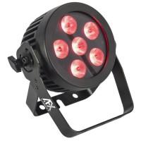 AFX PROPAR6-HEX Projecteur professionnel a LED haute luminosite RGBWA+UV - 6x12w