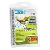 Agrafe a grillage VR22 Rapid Agraf - Galvanisées - 1100 agrafes