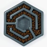 AIKIOU Hexa Bol ralentisseur - Gris - Pour chien