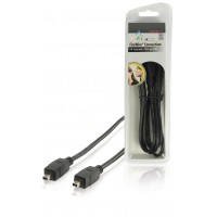 HQ câble FireWire FW 4 pins mâle - FW 4 pins mâle 1.80 m