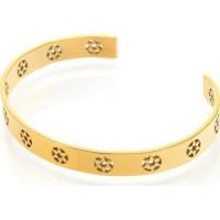 AILORIA Bracelet jonc coloris or