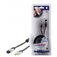 CABLE FIREWIRE IEEE1394B HAUTE QUALITE - 1.5m