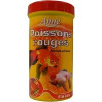 AIME Aliment principal en flocons - Pour poisson rouge - 250ml
