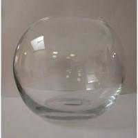 AIME Aquarium boule en plastique - 25 cm - 6 L - Pour poissons