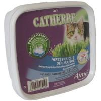 AIME Catherbe Herbe fraîche Dépurative - Pour chat - 220g