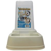 AIME Distributeur 2en1 croquettes et eau - Pour chat et chien