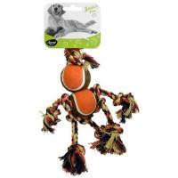 AIME Jouet corde bonhomme 20cm - Pour chien