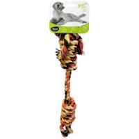 AIME Jouet corde double noeud 40cm - Pour chien