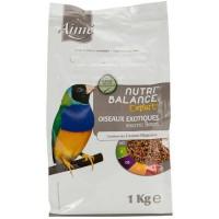AIME Nutri'balance Expert Mélange de graines - Pour oiseaux exotiques - 1kg