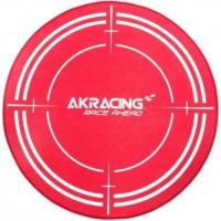 AK RACING Tapis de protection Gaming Floormat - 99.5 cm de diametre - Rouge