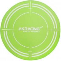 AK RACING Tapis de protection Gaming Floormat - 99.5 cm de diametre - Vert