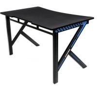 AKRACING Gaming Desk - AKSUMMITBLNA - Bureau pour gamer ergonomique et large - noir/bleu