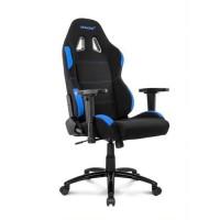 AKRACING Series Core EX-WIDE - AKEXWIBKBL - Siege Confort pour Gamer en tissu - Noir/Bleu