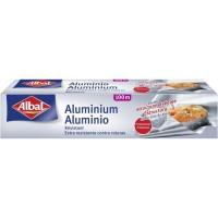 ALBAL Rouleau en aluminium - 100 x 0,295 m