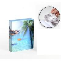Album photo 10 x 15 cm - 100 vues - Boitier motif Océan - 26 x 20,5 x 5,5 cm