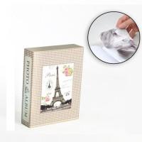 Album photo 10 x 15 cm - 100 vues - Boitier motif Paris - 26 x 20,5 x 5,5 cm