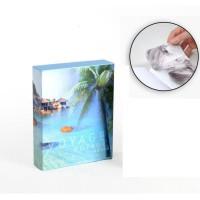 Album photo 10 x 15 cm - 200 vues - Boitier motif Océan - 26 x 20,5 x 5,5 cm
