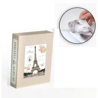 Album photo 10 x 15 cm - 200 vues - Boitier motif Paris - 26 x 20,5 x 5,5 cm